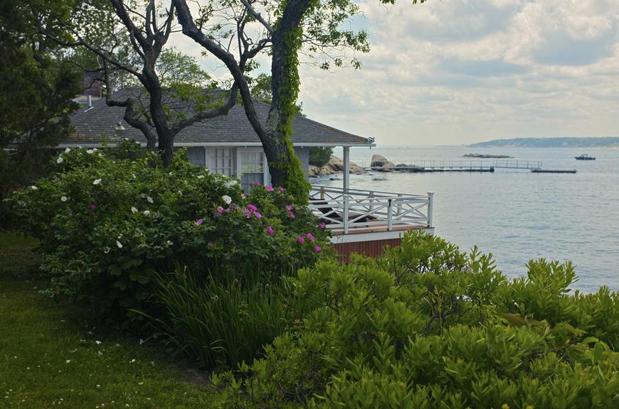 Eastern Point Yacht Club Garden Tour Gloucester MA