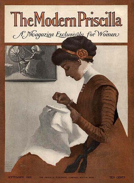 Margaret Fitzhugh Browne Modern Priscilla