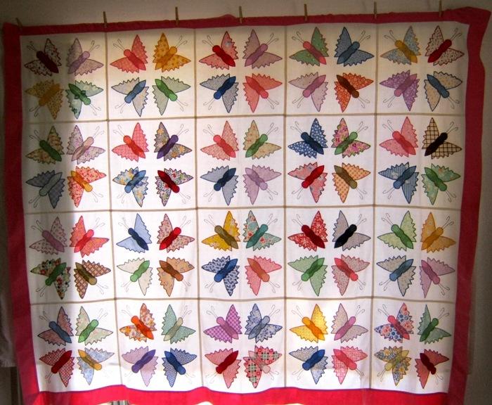 butterfly quilt | Kim Smith Designs : butterfly quilt - Adamdwight.com