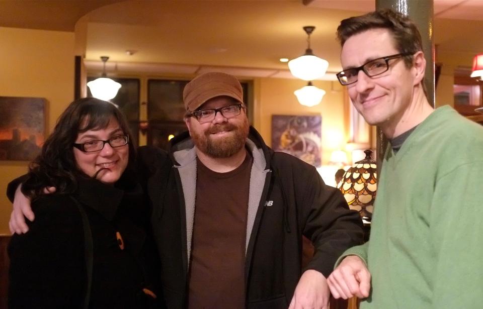 Hannah, Craig, Johnny Mac