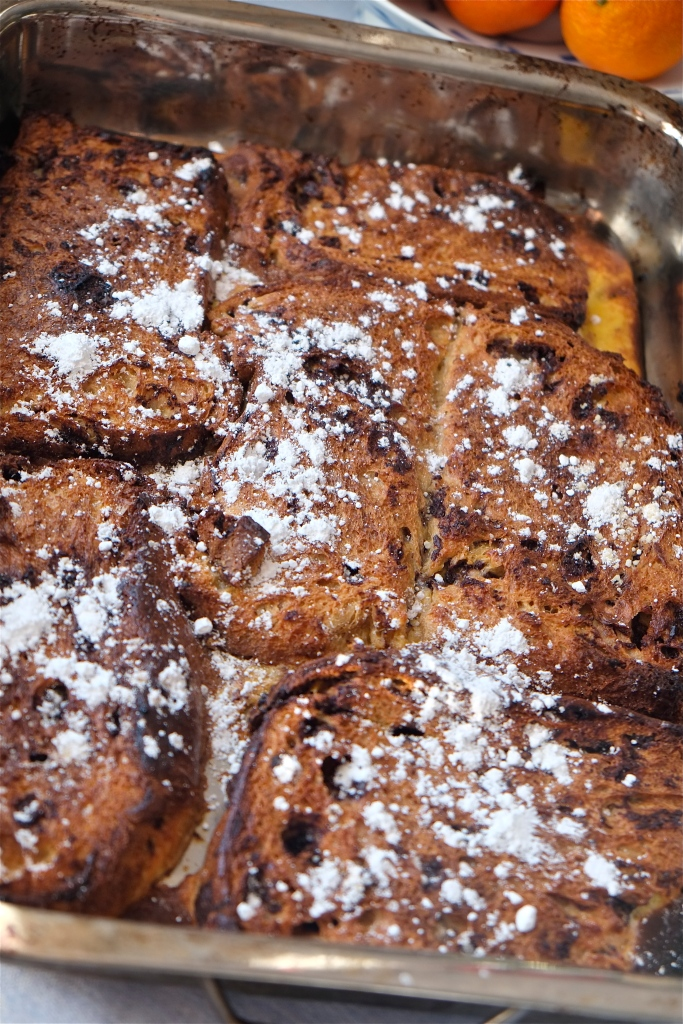 Panetonne French Toast ©Kim Smith 2013