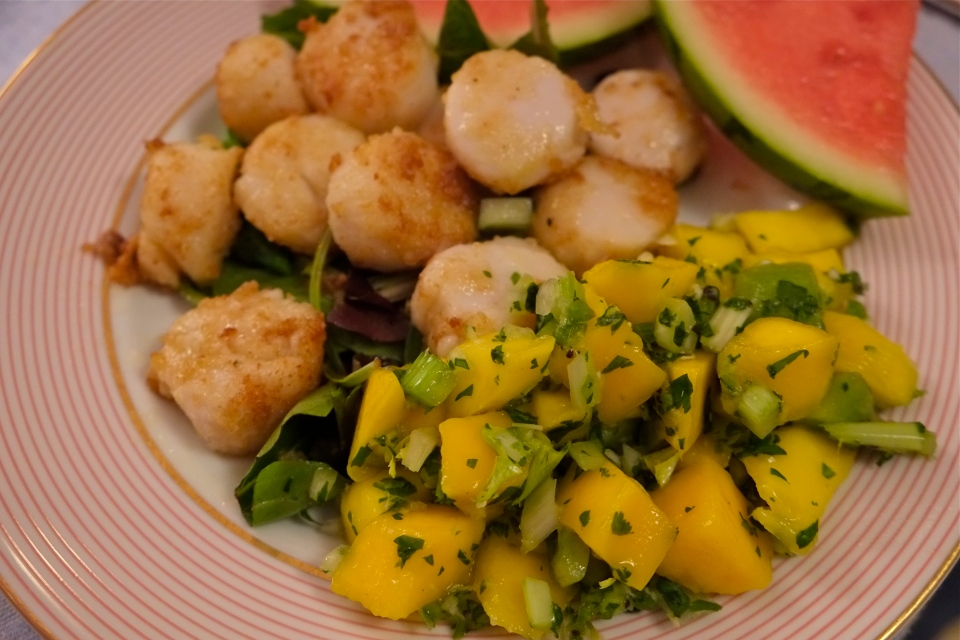 Kiwi Mango Salsa ©Kim Smith 2014