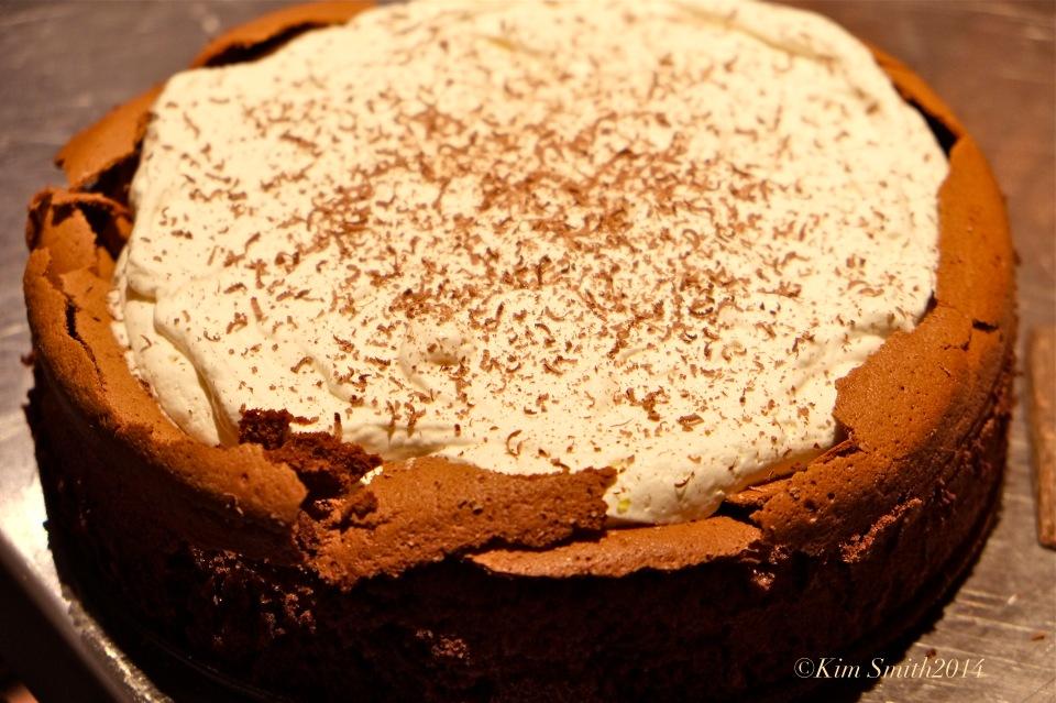 Flourless Choclare Cake ©Kim Smith 2014