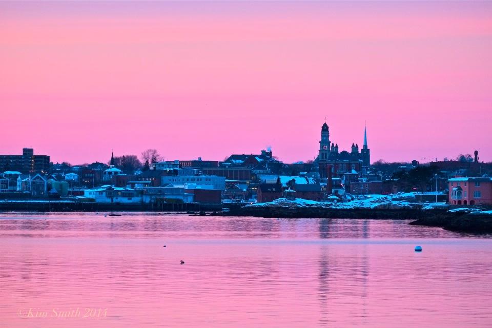 Gloucester Skyline ©Kim Smith 2014