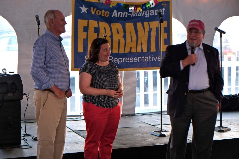 Ann Margaret Ferrante Robert DeLeo ©Kim Smith 2014