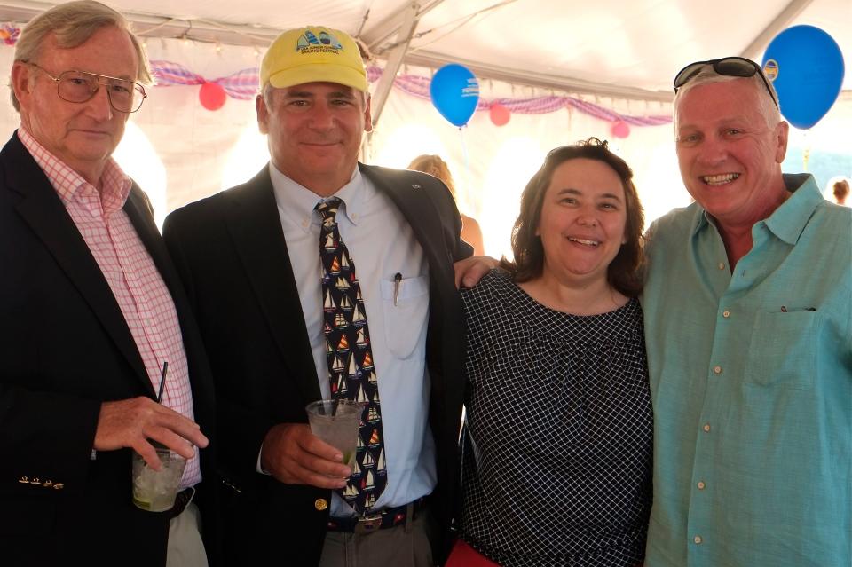 Bob Stewart, Ann Margaret Ferrante, Lenny Linquata ©Kim Smith 2014