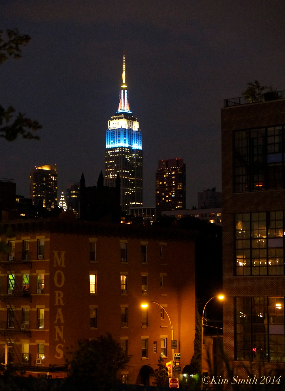 Chrysler Building night Highline ©Kim Smith 2014