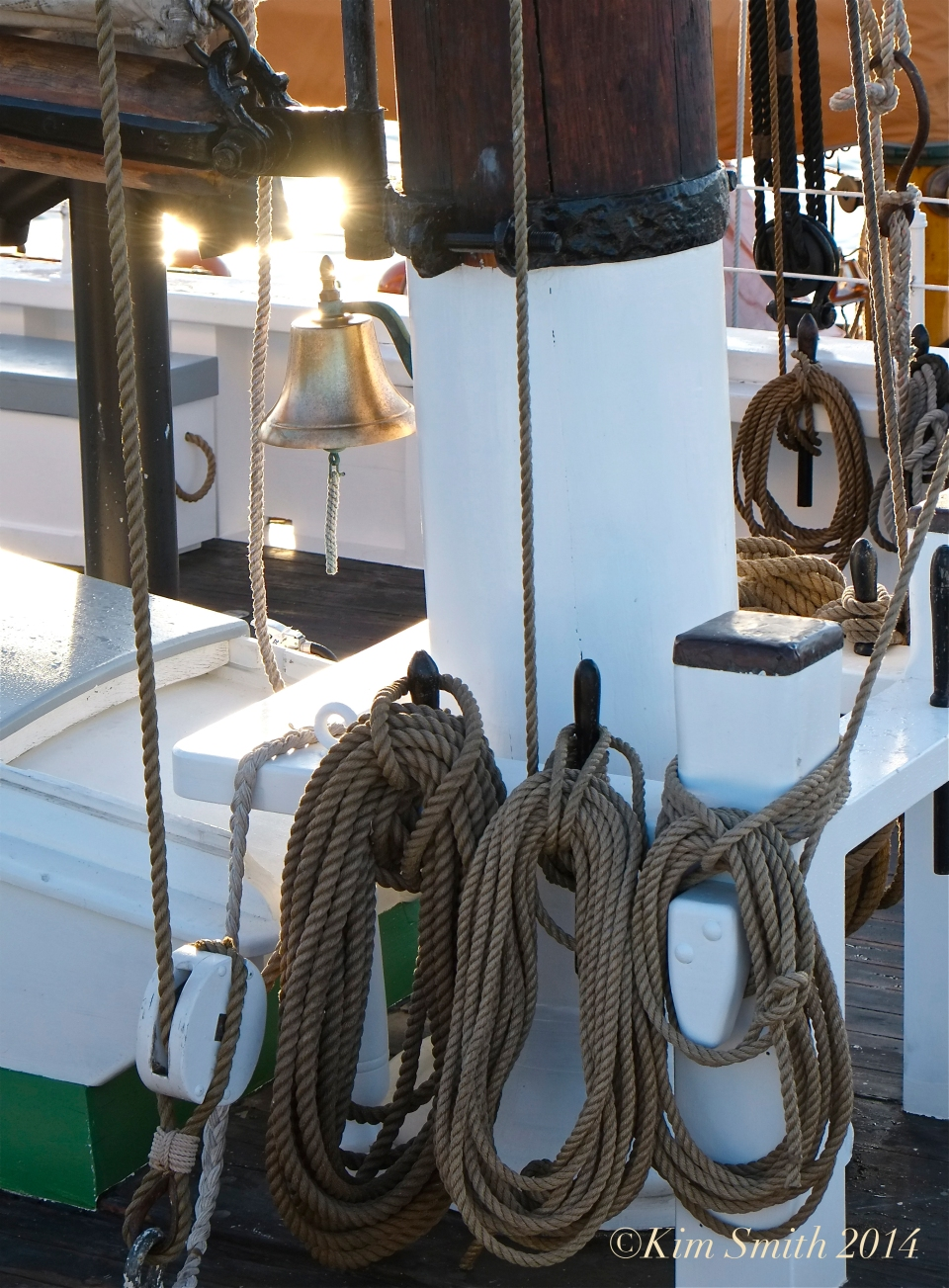 Schooner Adventure Ship's Bell ©Kim Smith 2014 copy