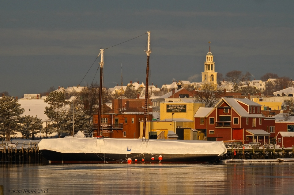 Maritime Heritage Gloucester winter snow ©Kim Smith 2015