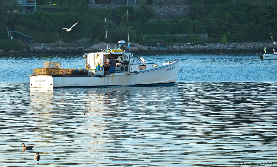 Tiffany Marie Lobster Boat Gloucester Massachusetts ©Kim Smith 2014