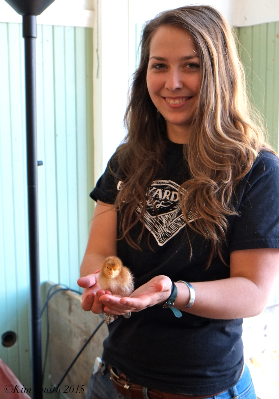 Backyard Growers Baby Chicks Meghan ©Kim smith 2015