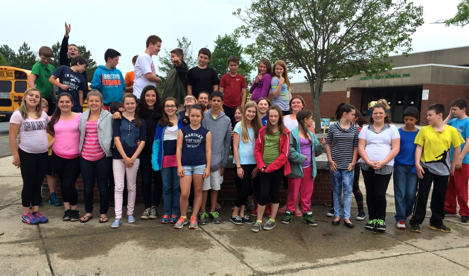 O'Maley Sixth Grade Butterfly Gardeners ©Kim Smith 2015