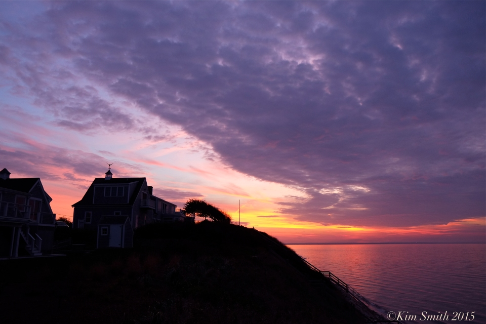 Dennis MA Cape Cod sunset ©Kim Smith 2015