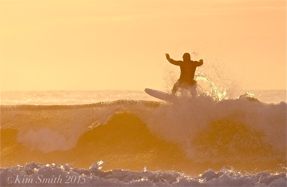 Good Harbor Beach surfer ©Kim Smith 2015