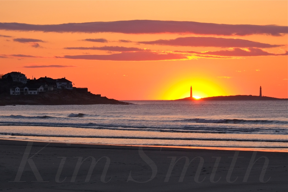 Thacher Island from Good Harbor Beach Kim Smith 2015