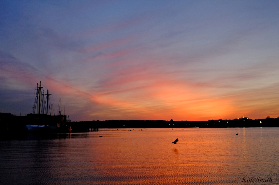 Gloucester Harbor sunset Kim Smith