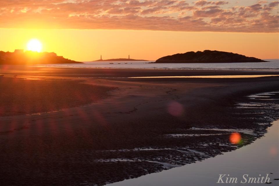 Good Harbor Beach Sunrise -2 Gloucester MA copyright Kim Smith