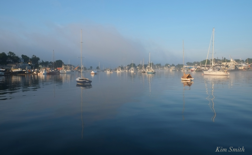 Gloucester foggy morning Smith's Cove Rocky Neck copyright Kim Smith