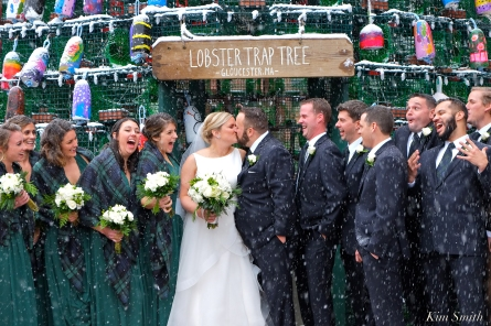 Wedding Kiss Lobster Trap Tree Gloucester MA -3 copyright Kim Smith