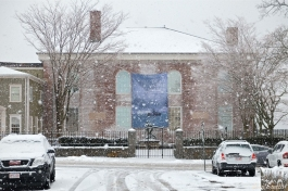 Cape Annn Museum Gloucester MA Snowy Day copyright Kim Smith