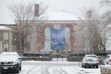 Cape Annn Museum Gloucester MA Snowy Day copyright Kim Smith