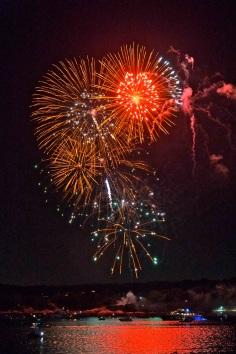 Gloucester Schooner Festival Fireworks Labor Day copyright Kim Smith - 09