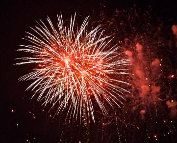 Gloucester Schooner Festival Fireworks Labor Day copyright Kim Smith - 19