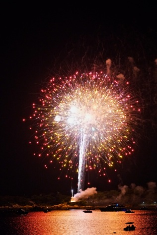 Gloucester Schooner Festival Fireworks Labor Day copyright Kim Smith - 20