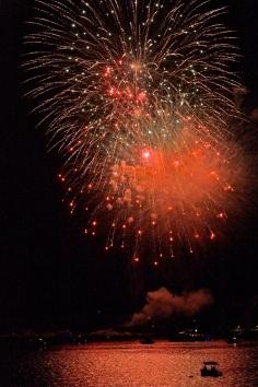 Gloucester Schooner Festival Fireworks Labor Day copyright Kim Smith - 30