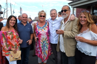 Schooner Festival Mayor Sefatia Rome Theken Reception 2018 copyright Kim Smith - 05