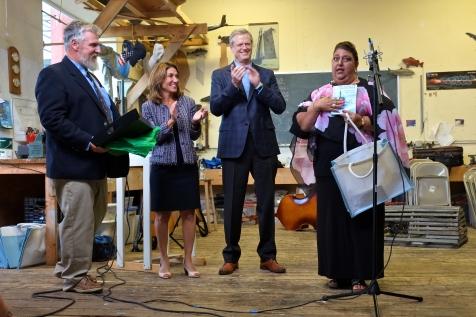 Schooner Festival Mayor Sefatia Rome Theken Reception 2018 copyright Kim Smith - 10