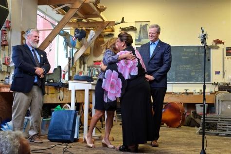 Schooner Festival Mayor Sefatia Rome Theken Reception 2018 copyright Kim Smith - 13