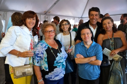 Schooner Festival Mayor Sefatia Rome Theken Reception 2018 copyright Kim Smith - 16