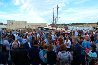 Schooner Festival Mayor Sefatia Rome Theken Reception 2018 copyright Kim Smith - 17