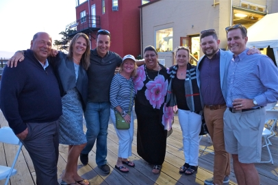 Schooner Festival Mayor Sefatia Rome Theken Reception 2018 copyright Kim Smith - 42