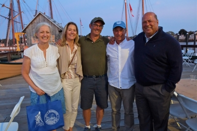 Schooner Festival Mayor Sefatia Rome Theken Reception 2018 copyright Kim Smith - 43