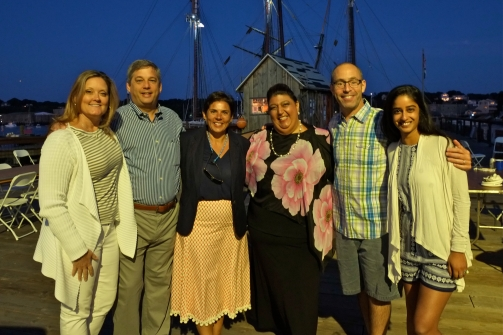 Schooner Festival Mayor Sefatia Rome Theken Reception 2018 copyright Kim Smith - 45
