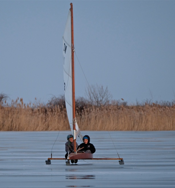 ice sailing niles pond copyright kim smith - 11