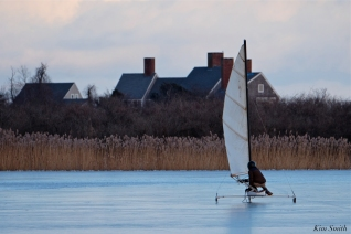 ice sailing niles pond january -2 copyright kim smith