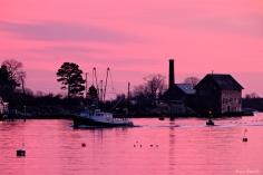 jodrey fish pier sunset gloucester massachusetts -5