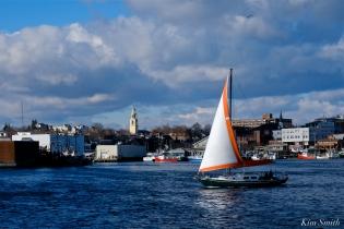 winter sail gloucester harobr copyright kim smith - 3