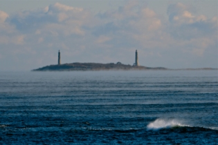 #GloucesterMA Deep Sea Smoke Twin Lights Freeze January 31, 2019 - 07