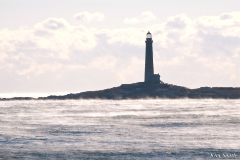 #Rockport North Light Twin Lights Thacher Island Sea Smoke Deep Freeze January 31, 2019 - 17