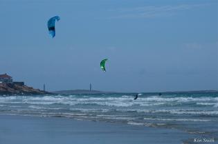 Kitesurfing Good Harbor Beach Gloucester copyright Kim Smith - 04