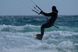 Kitesurfing Good Harbor Beach Gloucester copyright Kim Smith - 14
