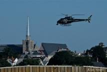 KRaken Fishing Boat Helicopter Filming Gloucester Harbor copyright Kim Smith - 01