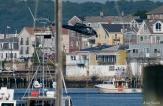 KRaken Fishing Boat Helicopter Filming Gloucester Harbor copyright Kim Smith - 07
