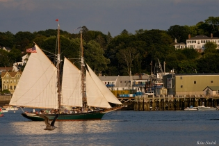 Schooner Thomas E. Lannon copyright Kim Smith - 05