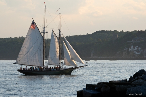 Schooner Thomas E. Lannon copyright Kim Smith - 09