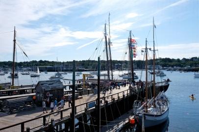 Schooner Festival Gloucester Parade of Sail copyright Kim Smith - 32